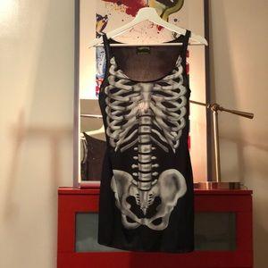 Little black skeleton dress